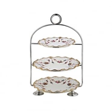 3 Tier Table Cake Stand 21x53cm