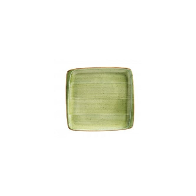 BONNA AURA THERAPY 32x30cm Square Plate - Therapy Green
