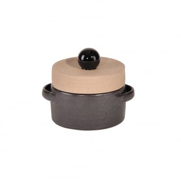 Basic Casserole L with Knob 12cm-Dark Gr