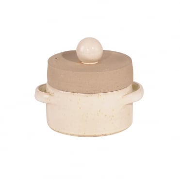 Basic Casserole Small 11cm-Ivory