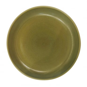 Big Soup Plate 20.5x4cm(h) - Matt Green