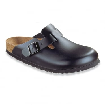 Birkenstock Boston Black Clog 38-Size 5