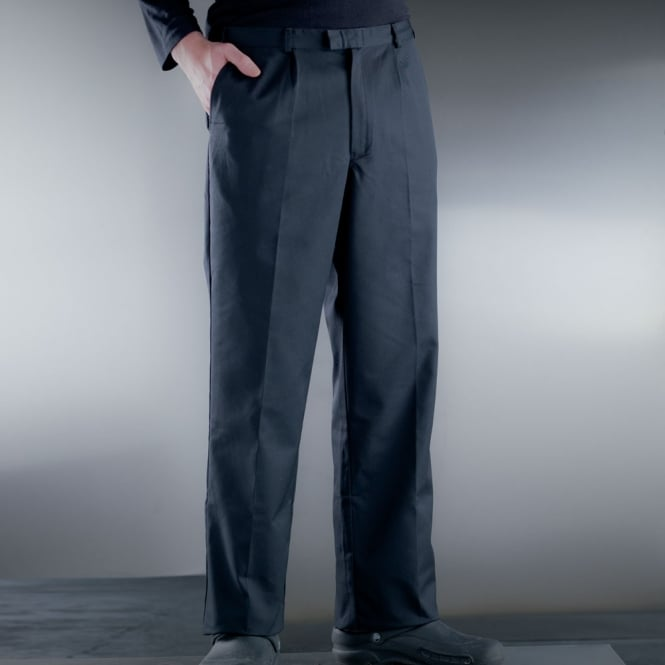 "Black Executive Chef Trouser/33""(48c)"