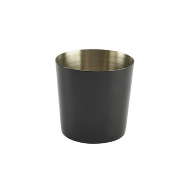 Black Serving Cup 8.5x8.8cm(h)- Plain
