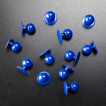 Blue Stud Buttons