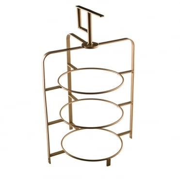 Bronze Effect 3 Tier Cake Stand