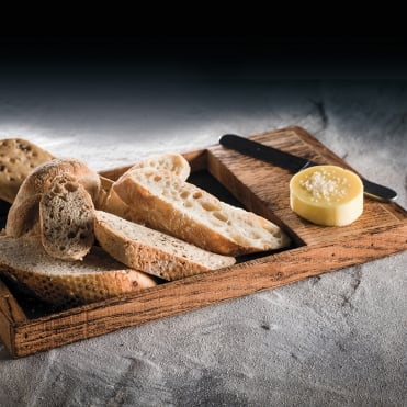 Burnt Oak Bread Tray