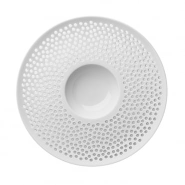 Cielo Bowl Perforated Rim 22x4.5cm