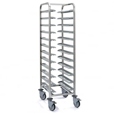 Clearing Trolley - 12 Trays