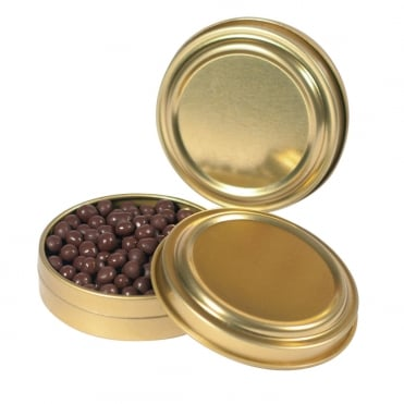 Custom Gold Caviar Cans (12 pack)