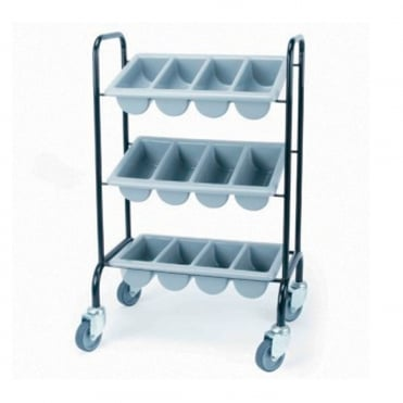 Cutlery Trolley 3 Boxes