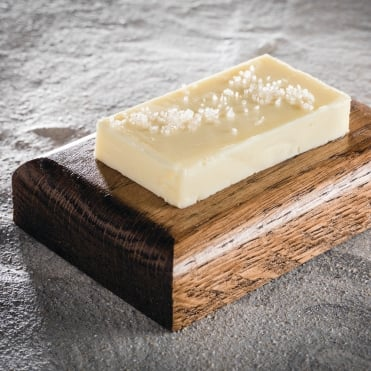 Dark Ash Butter Block 10x7x2cm