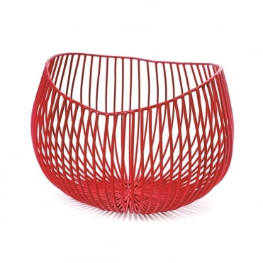Deep Bowl 'Gio' 23x20x16cm Red