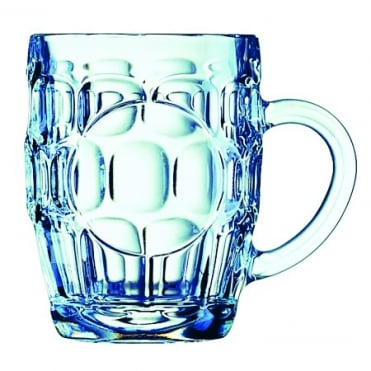 Dimpled Beer Tankard Panelled 20oz 58cl