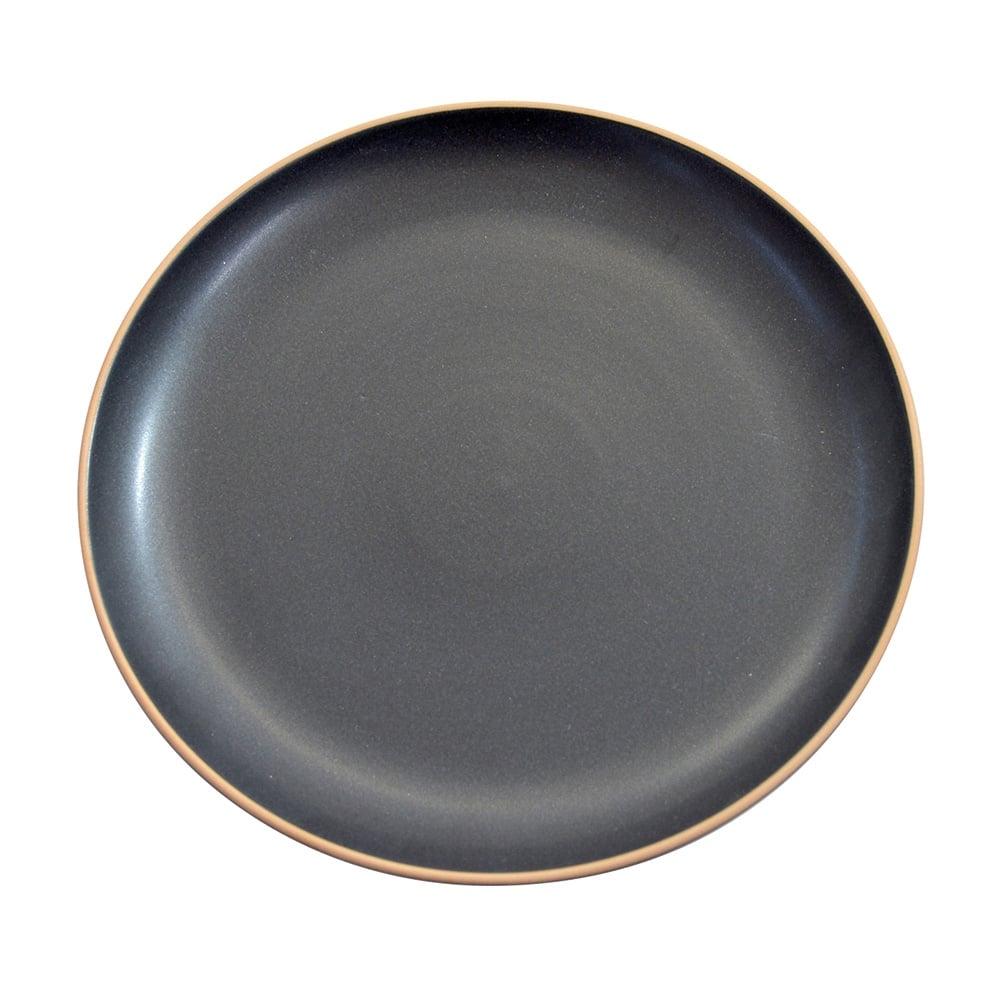 Dinner Plate 24cm - Black  sc 1 th 225 & BLACK Dinner Plate 24cm - Black - Tableware from Goodfellows UK