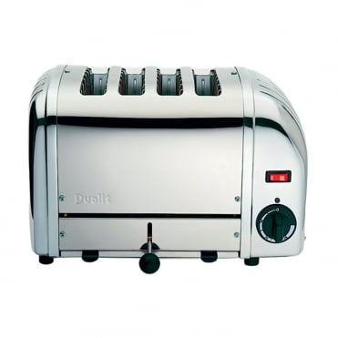 Dualit Toaster 4 Slot Polished Ends