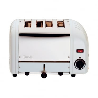 Dualit Toaster 4 Slot White Ends