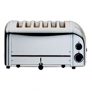 Dualit Toaster 6 Slot Polished Ends
