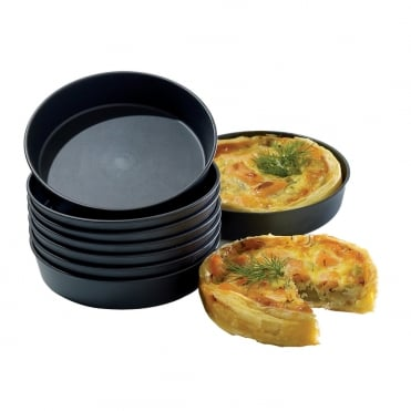 Exoglass Quiche Mould 90x20mm(pack 12)