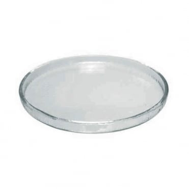Glass Appetiser Plate 25cm - Transparent