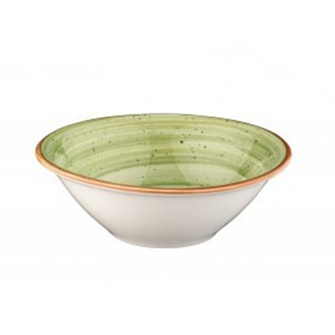 Gourmet 16cm Bowl 400cc -Therapy Green