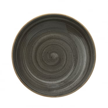 Gourmet 20cm Deep Plate - Space Grey