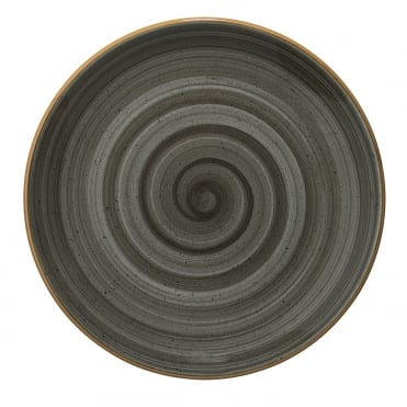 Gourmet 25cm Flat Plate - Space Grey