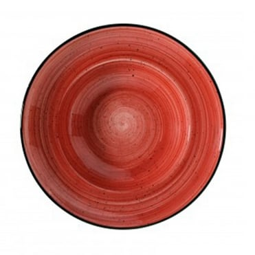 Gourmet 27cm Deep Plate - Passion Red