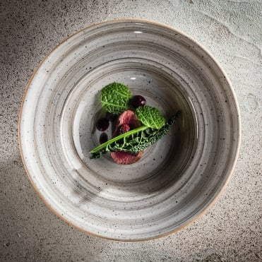 Gourmet 30cm Deep Plate - Space Grey