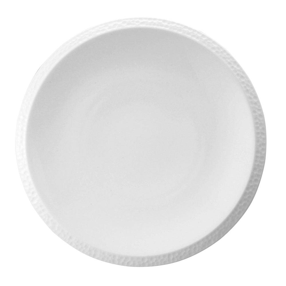Hammer Dinner Plate White 28cm  sc 1 th 225 & NARUMI HAMMER Hammer Dinner Plate White 28cm - Bone China from ...