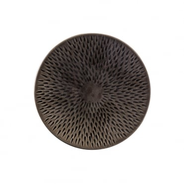 Lapillis Dinner Plate 25cm-Black