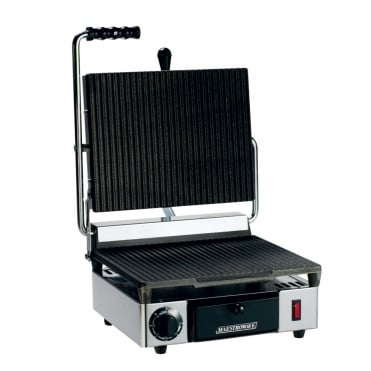 Maestrowave Single Contact Grill Ribbed
