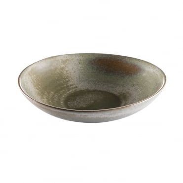 Maiko Pasta Plate 24cm - Grey/Green