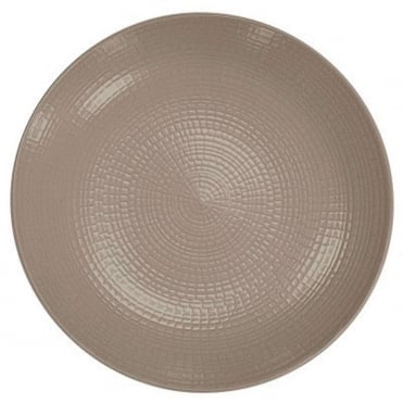 Modulo Nature Bread Plate 16cm-Warm Grey