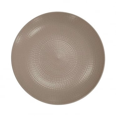 Modulo Nature Plate 28cm - Warm Grey