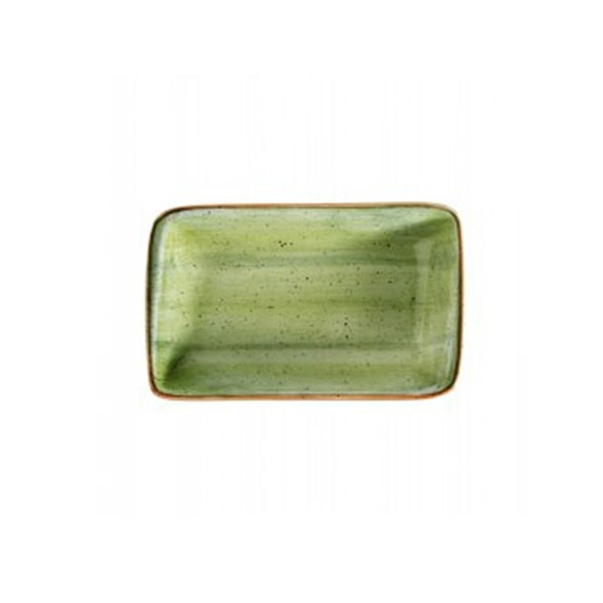 BONNA AURA THERAPY Moove 16cm Rectangular Plate - Green
