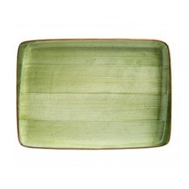 Moove 36x25cm Rect. Plate - Green