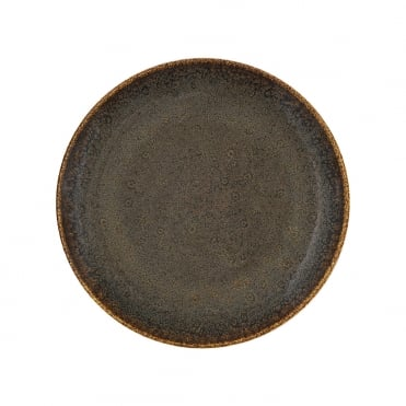 Ore 27cm Flat Plate - Brown