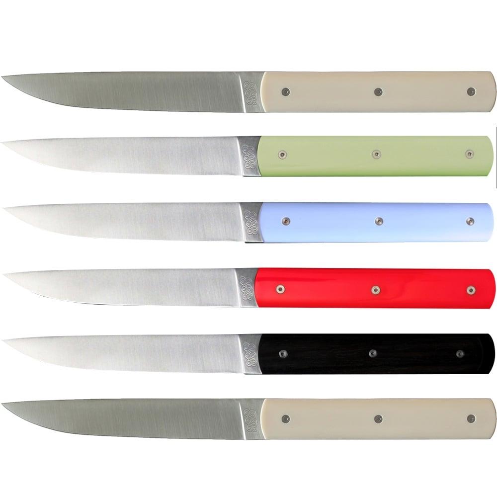 100 Coloured Kitchen Knives Set Taylor U0027s Eye