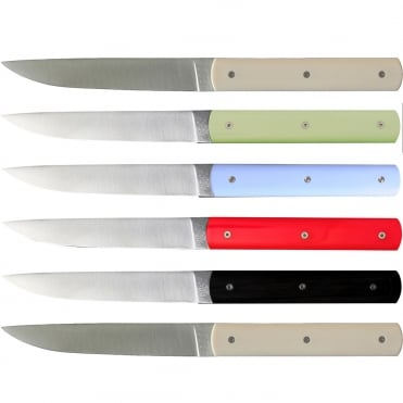 888 Knife - Mixed Colours (Set 6)