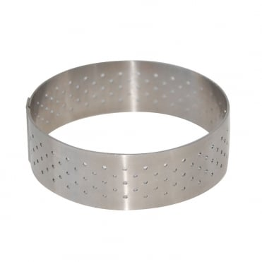 Perforated Tart Ring 185x20mm