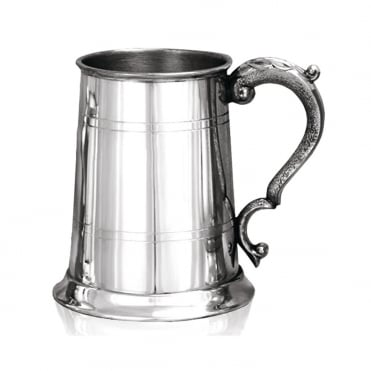 Pewter Tankard 0.5 Pint