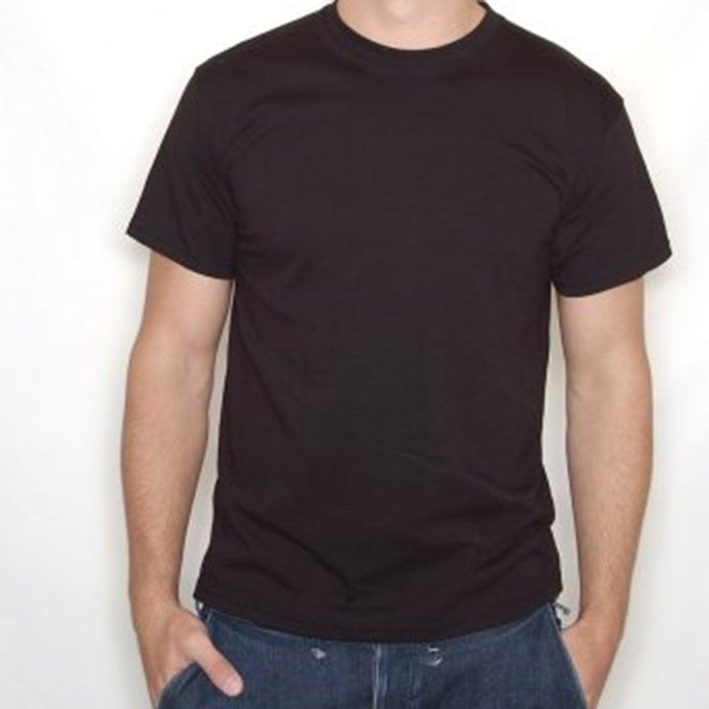 Plain Black Shirt Back