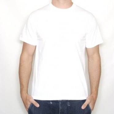 Plain White T-Shirt 100% Cotton - Large