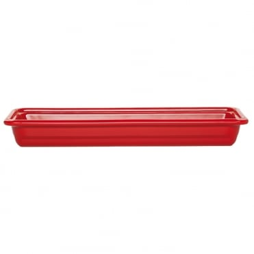 Recton G/N 1/1 53x32.5x6.5cm(h)- Red