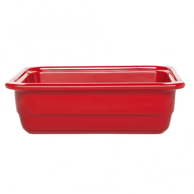 EMILE HENRY RECTON Recton G/N 1/2 32.5x26.5x10cm(h)- Red