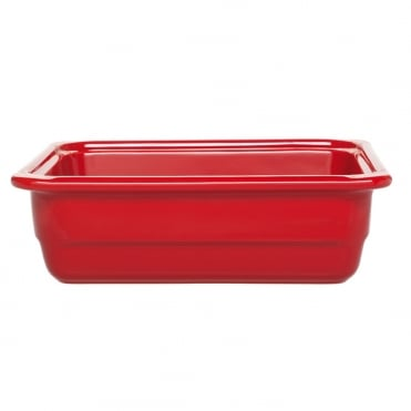 Recton G/N 1/2 32.5x26.5x10cm(h)- Red