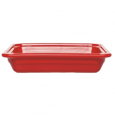 Recton G/N 1/2 32.5x26.5x6.5cm(h)- Red