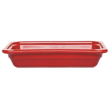 Recton G/N 1/3 32.5x17.5x6.5cm(h)- Red