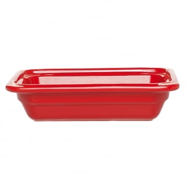 Recton G/N 1/4 26.5x16x6.5cm(h)- Red